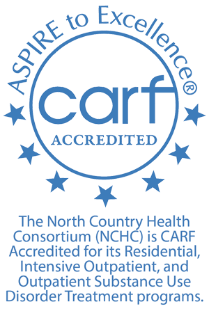NCHC was recently CARF accredited for its Residential, Intensive Outpatient, and Outpatient Substance Use Disorder Treatment programs
