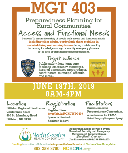 News & Events - The North Country Health Consortium